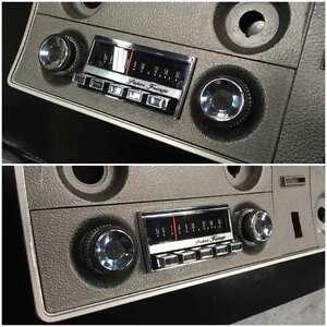 XW XY GT GS FALCON FAIRMONT SUPERFRINGE DUMMY RADIO - ARGENT HO 351