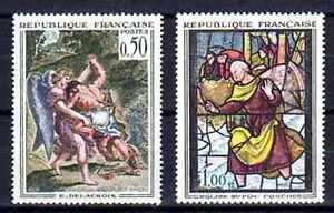 France-1963-Yvert-n-1376-et-1377-neuf-1er-choix