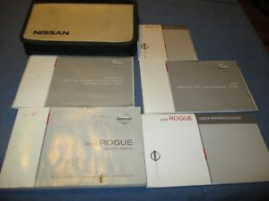 2009 nissan rogue owners manual set w case ebay rh ebay com 2009 nissan rogue owner's manual.pdf 2008 nissan rogue owners manual