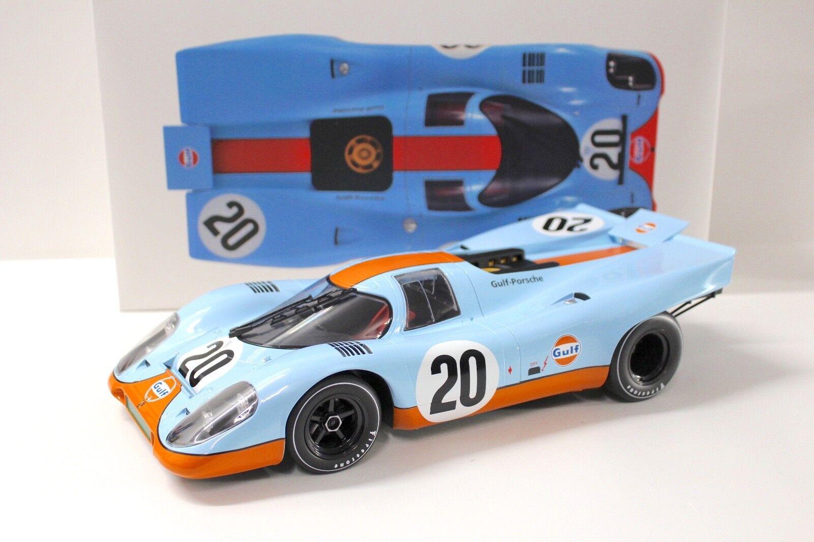 1 12 norev Porsche 917 K Gulf racing 24h france  20 New en Premium-modelCoches