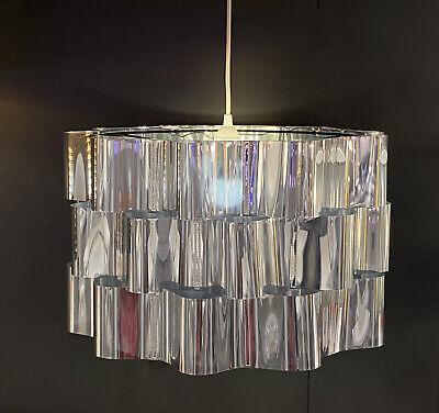 Lamp Shade Steel Chrome Effect 20, Large Drum Lamp Shade Ikea