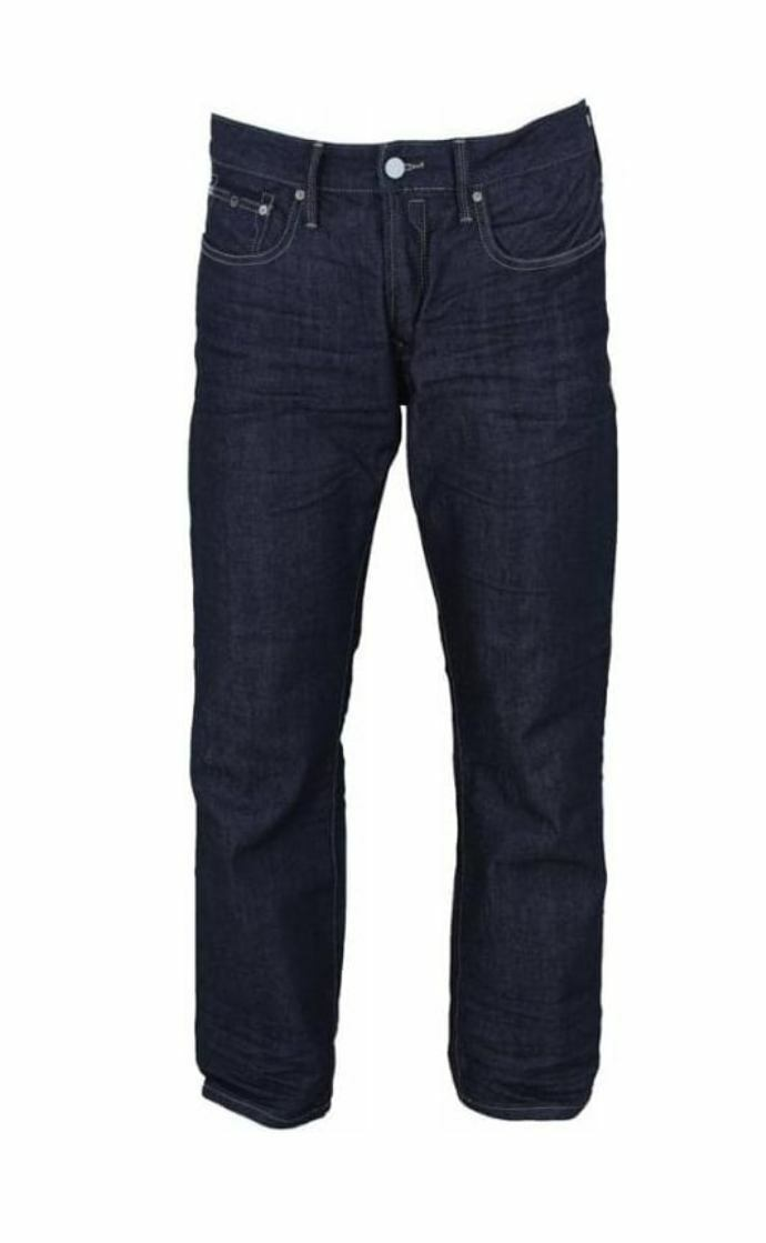 DUCK & COVER Jeans Men's Regular Regular Regular Fit Straight Leg Boxsir Porto Raw  Größe 30  32  9bc442