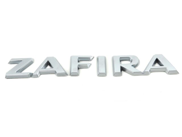 Genuine New VAUXHALL ZAFIRA BOOT BADGE Opel B 2005-2011 All Models inc SE CDTi
