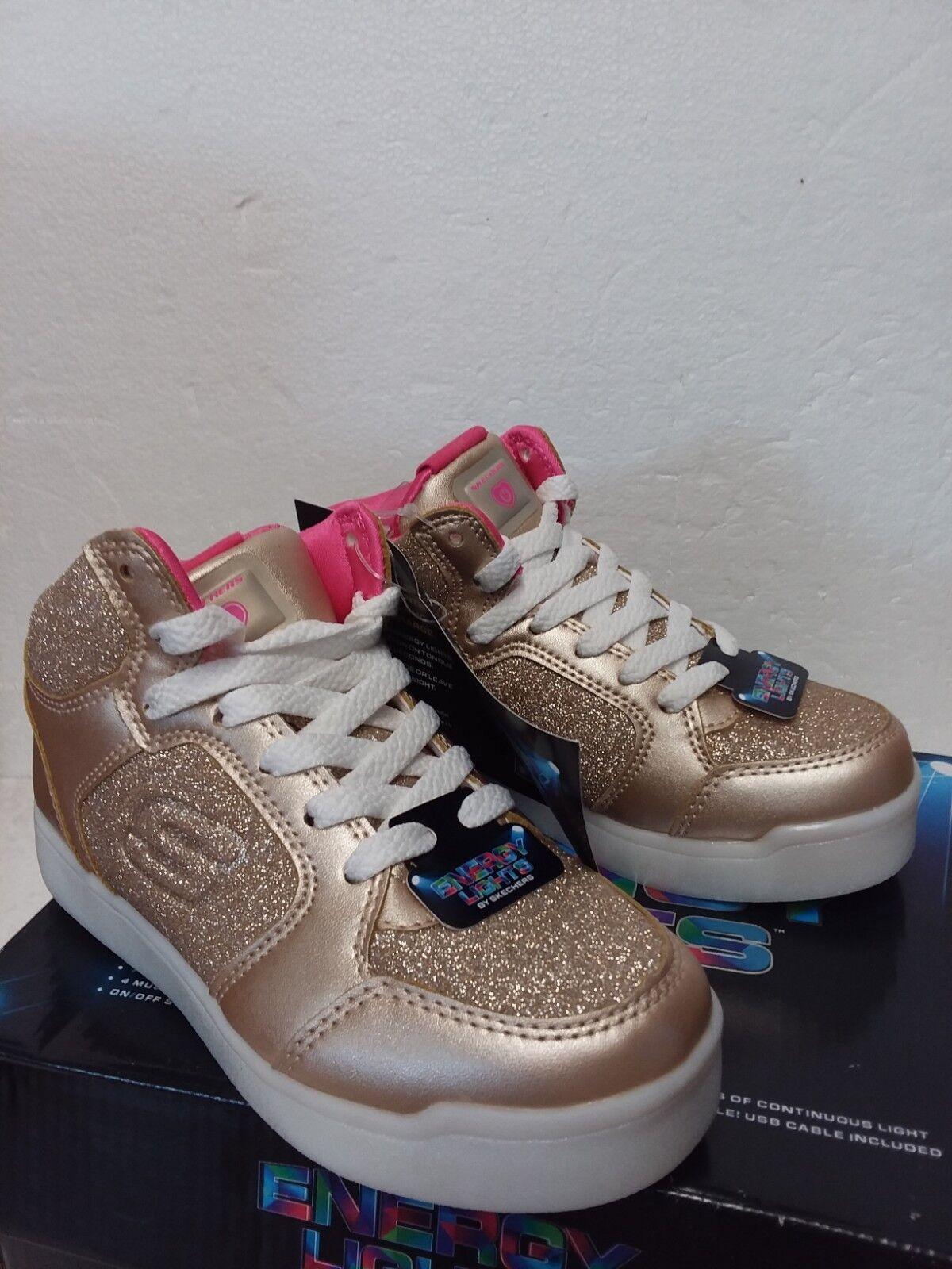 E-Pro Sneaker- Glitter Glow Gold Girls