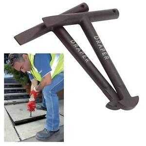 Genuine DRAPER 2 x 130mm Manhole Keys89721