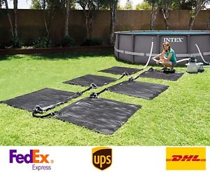 Intex 28685 Solar Mat Above Ground Swimming Pool Water Heater For 8 000 Gph Pool Ebay