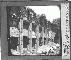 Liban-Lebanon-Baalbek-Baalbeck-temple-de-Jupiter-Heliopolis-photography-c1900