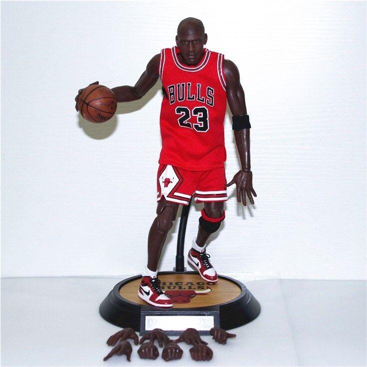 azione cifra Jordan Basketbtutti 23 rosso Real Piece 16 Kid Gift giocattolo Statue
