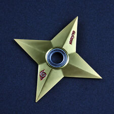 Naruto Shuriken Hand Spinner Fidget Metal EDC Bearing ADHD Tri Fidget Focus Toys