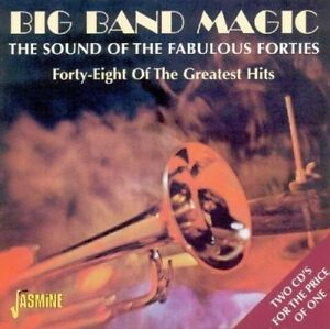 Big-Band-Magic-The-pied-ripers-Ted-Weems-JIMMIE-LUNCEFORD-2-cd-2-CD-NEUF