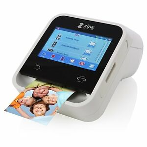 Zink Wireless Touchscreen Photo Booth Printer Print From Ios And
