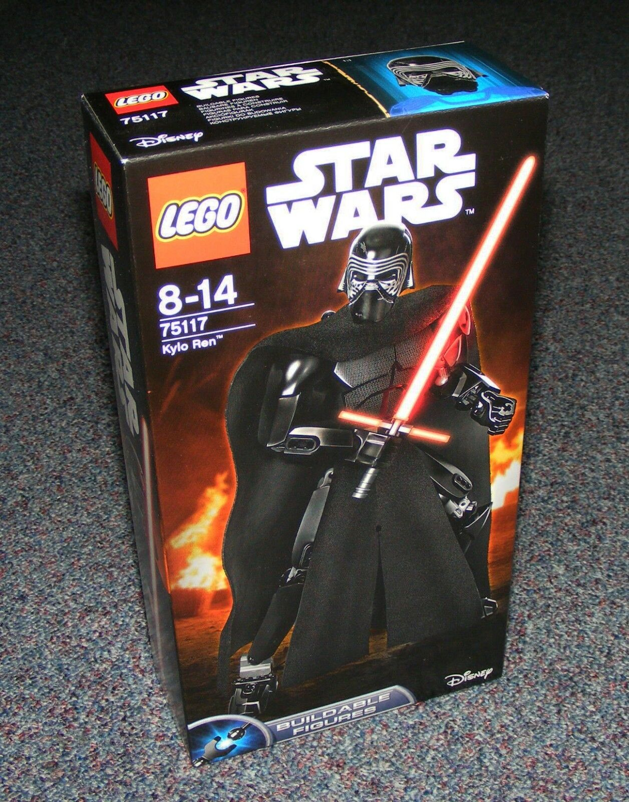 STAR WARS LEGO 75117 KYLO REN BUILDABLE FIGURE BRAND NEW SEALED