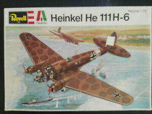 Heinkel-He-111-H-6-Revell-Italaerei-Scale-1-72-Kit-H-2016