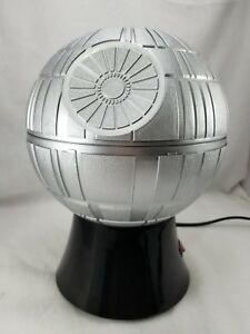 Details about Star Wars Death Star Popcorn Maker Hot Air Popper Rogue One  Silver Black