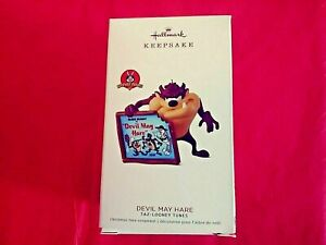 Hallmark-2018-Devil-May-Hare-Tazmanian-Devil-Looney-Tunes-Keepsake-Ornament