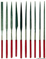 Quality Diamond Needle Files 10pc Jeweler Lapidary Tool