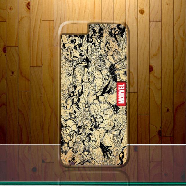 Antique Retro Marvel Superhero Justice League Bomb Crew Hard Phone Case Cover