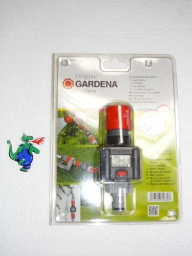 GARDENA Wassermengenzähler Wasserzähler für Garten Bewässerung Zähler Wasser