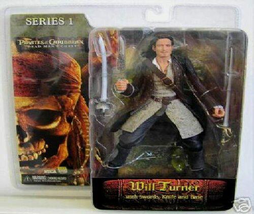 Piraten der caribbean_dead mannes truhe collection_will turner figure_series 1