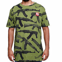 8&9 Aks All Over Print Military Shirt