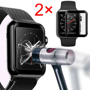 1310c5d7fa40 3pcs For Apple Watch Series 4 Tempered Glass Film Screen Protector ...