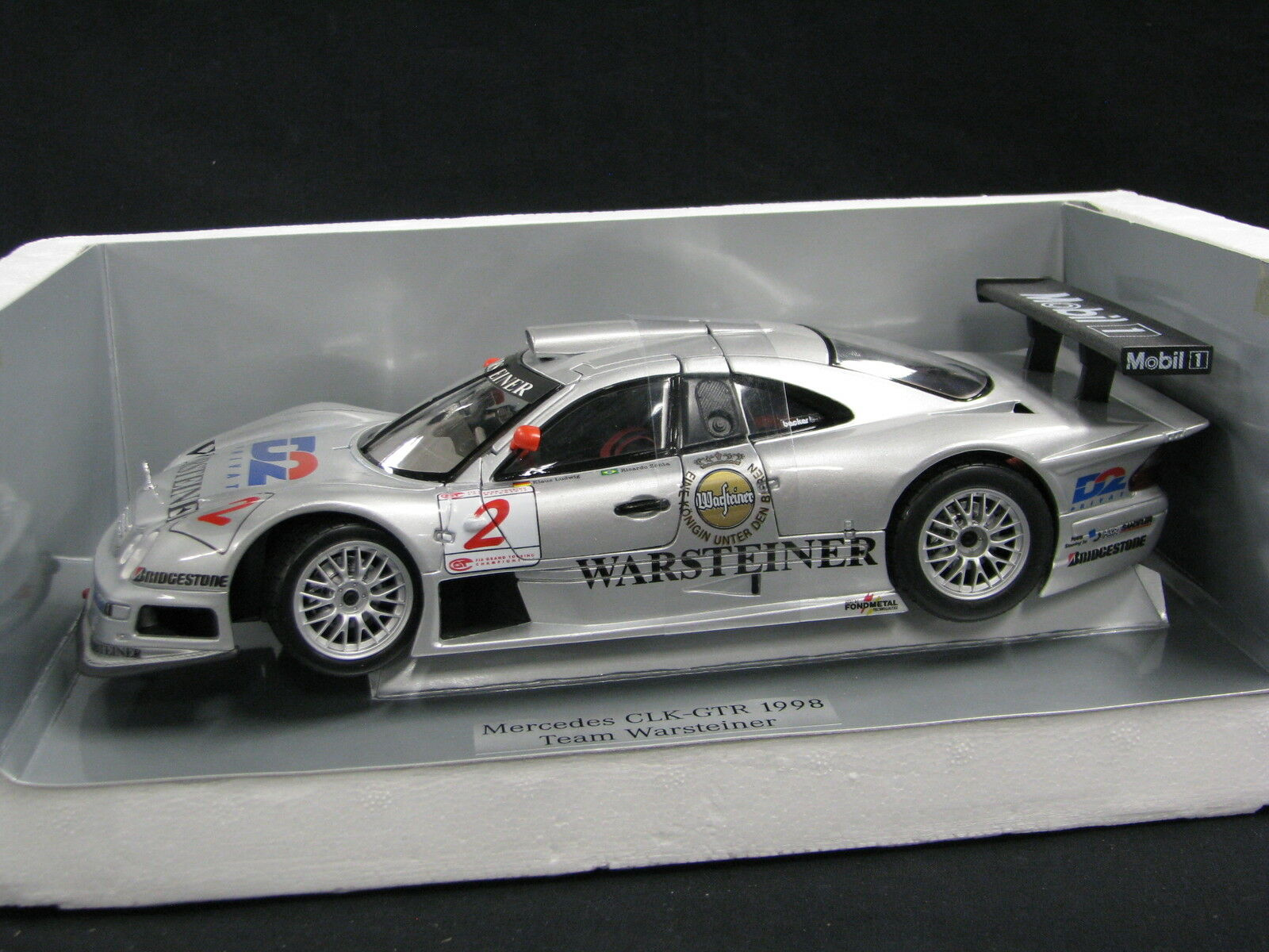 Maisto D2 Mercedes-Benz CLK-GTR 1998 1 18 Ludwig   Zonta FIA GT (JS) DV