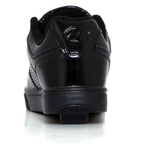 Heelys Motion Plus Corea Nero Bambini Ragazzi ROLLER SKATE SHOES TRAINER HES10111