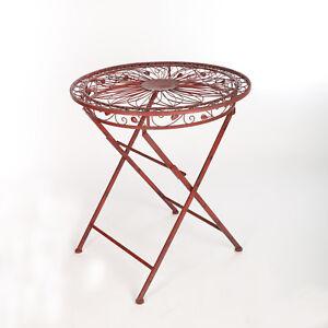 Details zu Gartentisch gartentische metall metalltisch terassentisch antik  retro