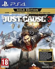 Just Cause 3 - Gold Edition (PS4)  NEW SEALED