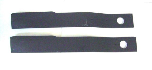 "2-6FT Rotary Cutter Blades 1//2/"" 30 Long 1 1//2/"" Bolt Hole Italian Made Bush Hog"
