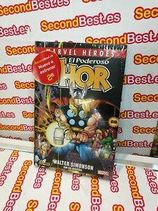 Libro-MARVEL-HEROES-El-Poderoso-Thor-Walter-Simonson-Nuevo
