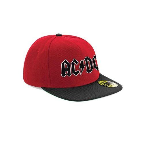 CI994 AC//DC Unisex Adults Logo Snapback Cap