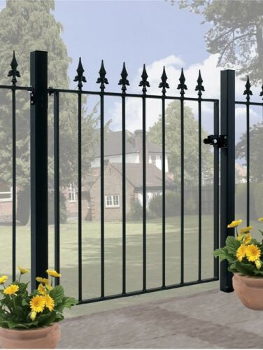 Gaelic Spear Top Metal Garden Gates fits 762mm to 1067mm Gaps x 1255mm H wrought