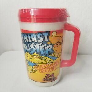 Vintage-80s-Circle-K-Thirst-Buster-Aladdin-Insulated-Iguana-Coca-Cola-USA-New