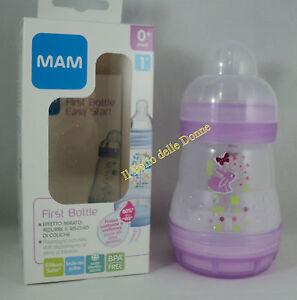 MAM Feeding bottles First bottle 5.4oz •anti-colic flow teat 1 ... 60a44d6de87