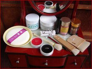 Geisha-Maiko-or-Kabuki-White-Oshiroi-Shiro-Nuri-14-Item-Professional-Makeup-Set