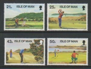 Isle of Man - 1997, Golf set - MNH - SG 755/8