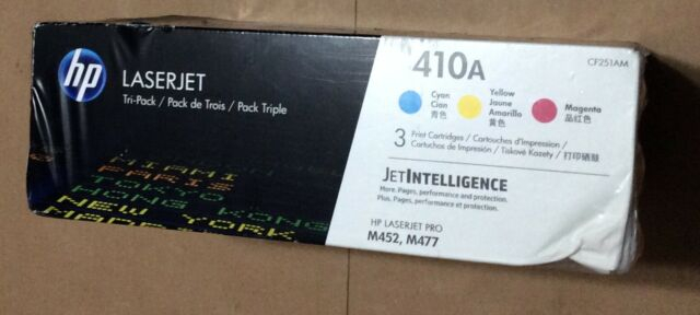 "Gen. HP 410A CF251AM CF411A, CF412A, CF413A Toner ""Tri-Pack"" New Other"