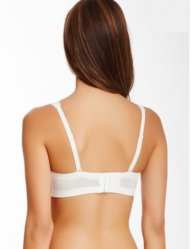 NWT Chantelle 6298 Eternelle Strapless Convertible T-Shirt Lace Bra Ivory Bridal