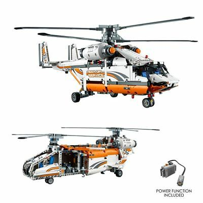 Heavy Lift Helicopter 1042 Block Pcs 2 in 1 Power Function Lego Compatible