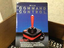 Wico Command Control Joystick Atari 2600 System or 400/800 Computers FRESH CASE