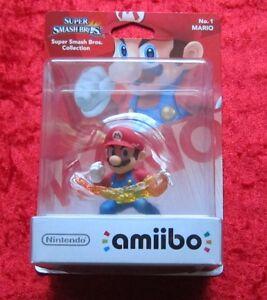 Mario-amiibo-Figur-Super-Smash-Bros-Collection-No-1-Neu-OVP