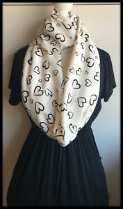 Black SCARF Dragonfly Infinity Endless Shawl Hippy Jersey Fabric Hipster Boho
