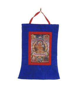 Thangka Budda E Divinità Appeso Tibetano Tangka 5934