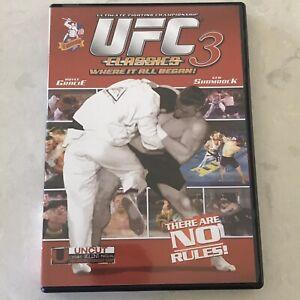 UFC-CLASSICS-3-Ultimate-Fighting-Championship-DVD-Royce-Gracie-Ken-Shamrock