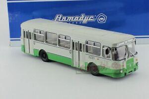 1/43 Russian Ussr Bus Liaz 677M 677 M Soviet Bus Diecast Green