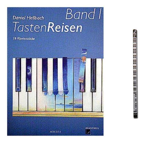 Tastenreisen Band 1 ACM217-9990051402926 für Klavier mit MusikBleistift