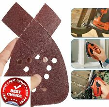 LESNIC 80 Pcs Mouse Sanding Pads PSM200AES PSM18 and All Oscillating Multi-Tools Mouse Sanding Sheets 10 pcs per Each 40//60//80//120//180//240//320//400 Grits Hook /& Loop Assorted for Bosch PSM100A