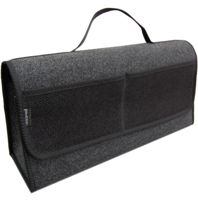 Kofferraumtasche Auto Tasche Zubehörtasche in SCHWARZ passend für Mazda