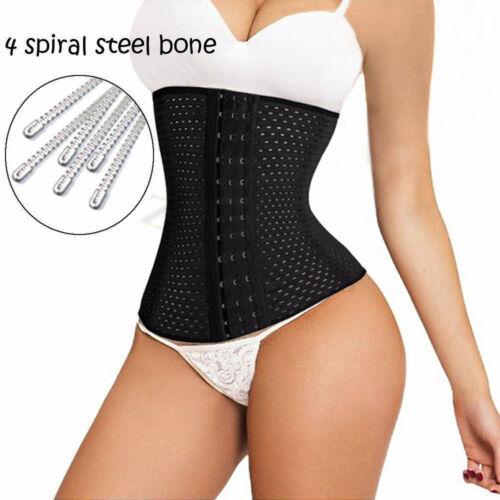 Women Bodyshaper Corset Underbust Waist Trainer Cincher Breathable Slim Belt